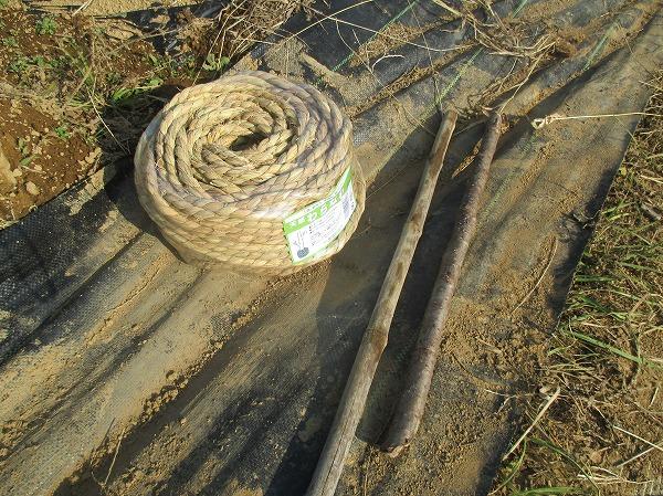 さくり縄の材料