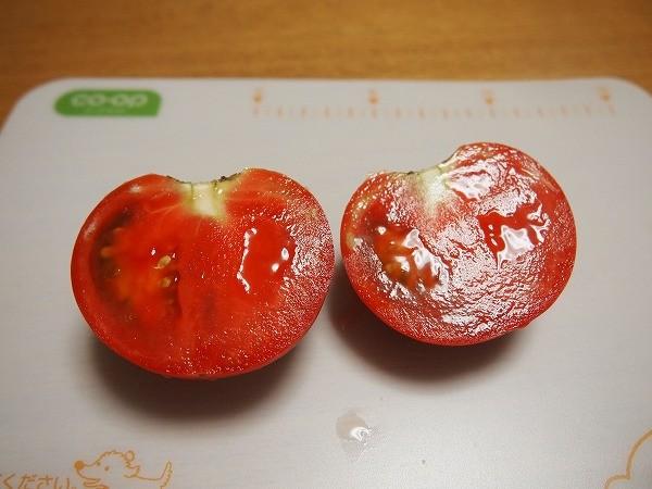 完熟させた大玉トマト