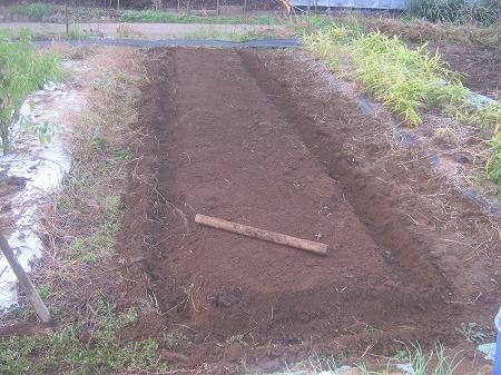 畝を形成する